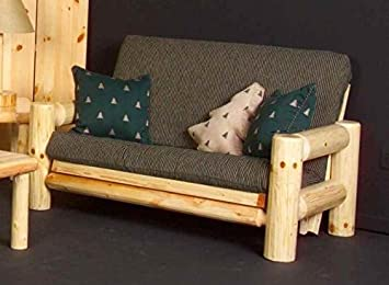 Northern Exposure Log Love Seat (Clear)