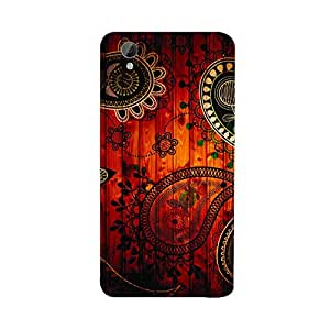 Skintice Designer Back Cover with direct 3D sublimation printing for Vivo-Y31L