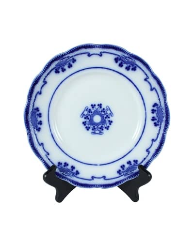 Flow Blue Lorne By Grindley Dinner Plate, Blue/White