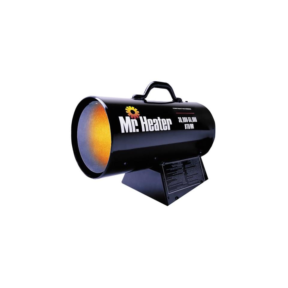 Mr. Heater Portable Propane Forced Air Heater   30,000 55,000 BTU, Model# MH55FAV