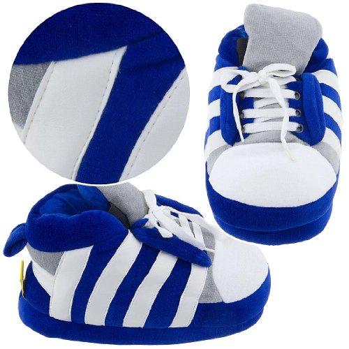 Cheap Blue Sneaker Slippers for Women (B0077QU28K)