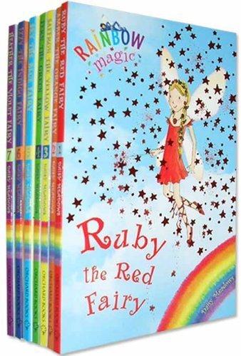 Rainbow Magic Colour Fairies Collection 7 Books Pack Set (Series 1 to 7) RRP  PDF