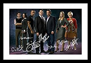 Criminal Minds Autographed Signed And Framed Poster Photo