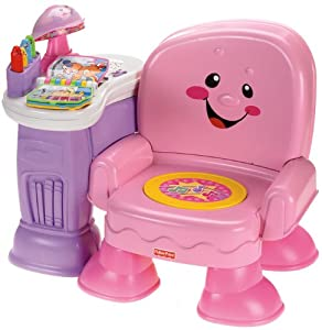 Fisher Price Laugh Learn Musical Learning Chair Pink