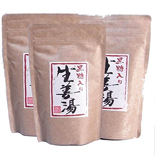 [Kochi, ginger: black sugar ginger water 300 g x 3 bag set [home]