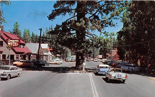 Tahoe City, Califiornia postcard, 1960