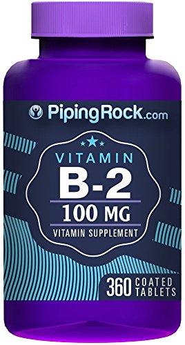 B-2 100 Mg (Riboflavin) 360 Tablets