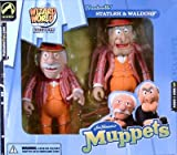Muppets - Vaudeville Statler & Waldorf Action Figure Set -WIZARD WORD CHICAGO EXCLUSIVE 2003 from Palisades