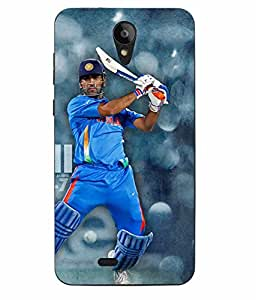Case Cover Cricket Printed Blue Hard Back Cover For Sony Xperia XA Ultra Dual