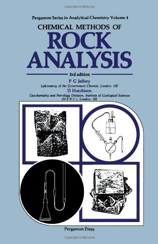 Chemical Methods Of Rock Analysis, Third Edition (Pergamon Series In Analytical Chemistry)