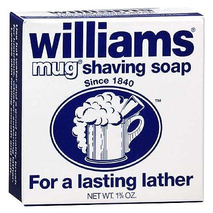 Williams Mug Shaving Soap, 1.75 Oz (Pack of 3)