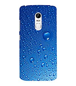 EPICCASE Water Droplets Mobile Back Case Cover For Lenovo Vibe X3 (Designer Case)