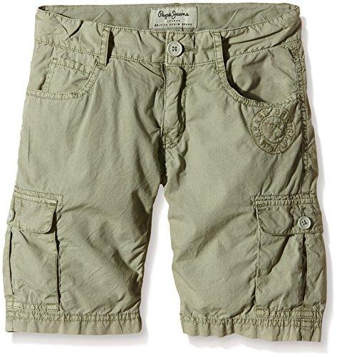 Pepe Jeans PIERO-Shorts Bambino    Vert (Seagrass) 14 Anni