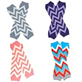 juDanzy zig zag chevron print leg warmers for baby boys & girls