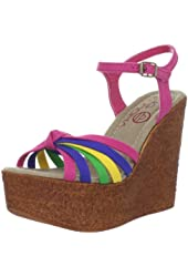 Big Buddha Women's Mojo Wedge Sandal