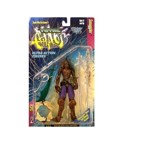 Spawn Total Chaos Series 2 Ultra-Action Figure - Smuggler - 1