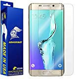 Samsung Galaxy S6 Edge Plus Screen Protector [Full Coverage], Armorsuit MilitaryShield w/ Lifetime Replacements - Anti-Bubble Ultra HD Premium Shield
