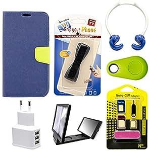 Mify Mobile Accessories Combo for Xiaomi Mi 4, Blue