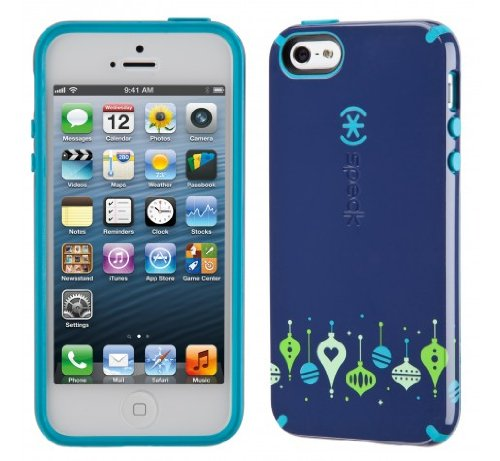 Great Price Speck Products CandyShell Holiday Glossy Case for iPhone 5 & 5S - Retail Packaging - BeBaubled