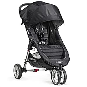 Baby Jogger City Mini Single Stroller, Black/Gray
