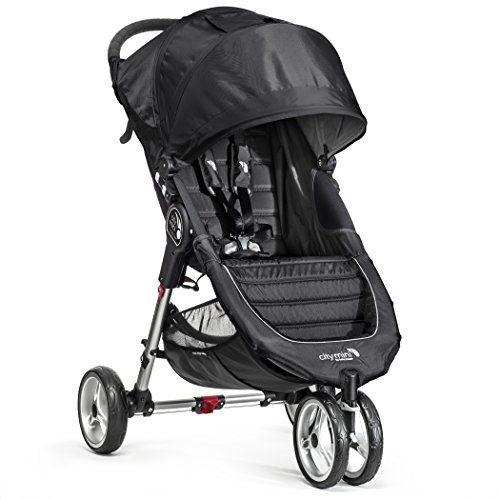 Find Discount Baby Jogger City Mini Single Stroller, Black/Gray