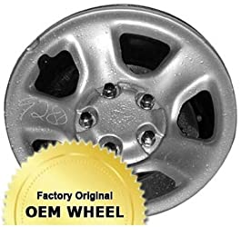 DODGE RAM 1500 17×8 5 SPOKE Factory Oem Wheel Rim- STEEL-BLACK – Remanufactured