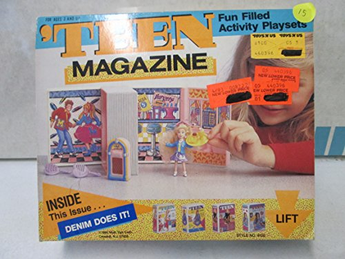 Teen Magazine Fun Filled Activity Playsets Denim Does It