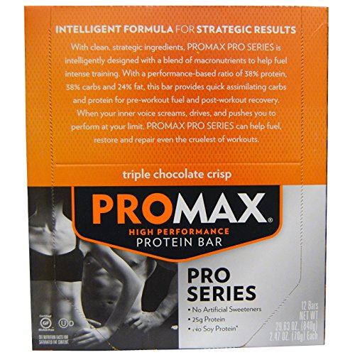 promax-nutrition-high-performance-protein-bar-triple-chocolate-crisp-12-bars-247-oz-70-g-each