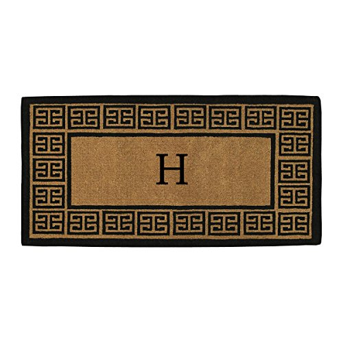 Home & More 180093672H The Grecian Extra-thick Doormat, 36