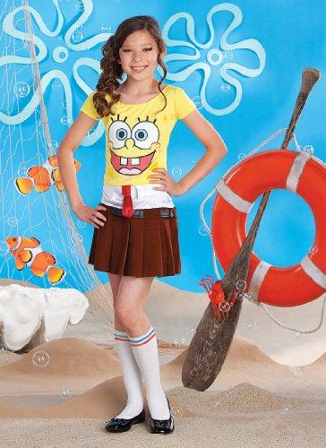 SpongeBob Squarepants Spongebabe Costume - One Color - Small