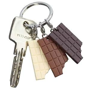 Caroline Lisfranc - Porte-clés trois tablettes de Chocolat