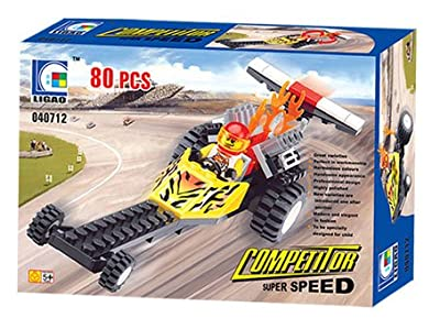 Competitor Super Speed 80 Pcs Racer Building Blocks Set Compatible With Lego Parts Best Toy In Facoty Gift Box  from Wange ( Ligao )
