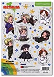 Hetalia Axis Powers Cutout Chibi Characters Magnet Collection