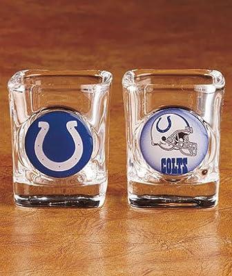 NFL Indianapolis Colts Shot Glasses - SET of 2
