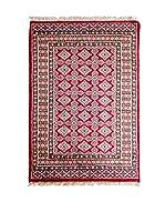 Navaei & Co. Alfombra Kashmir Rojo/Multicolor 121 x 78 cm