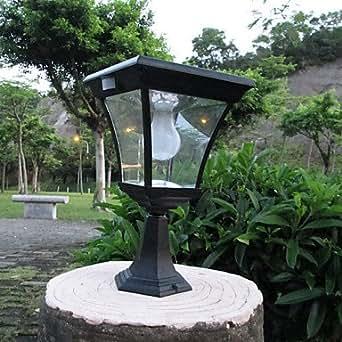 GD LED Solar Fence Post Light Solar Post Garden Light LEH