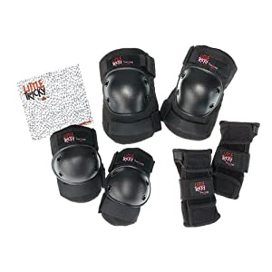 Triple Eight Little Tricky Junior Protective Pad 3-Pack by Triple 8