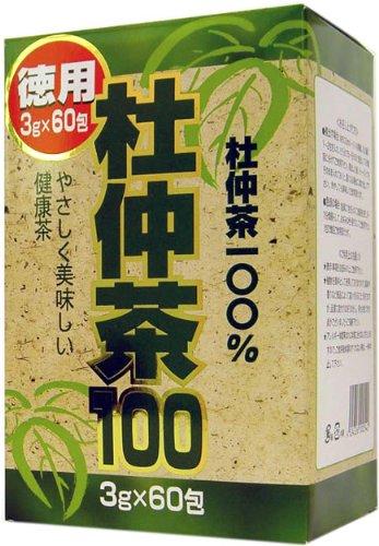 ユウキ 徳用杜仲茶100 箱 3g×60包