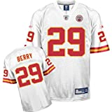 Reebok Kansas City Chiefs Eric Berry Replica White Jersey Extra Large at Amazon.com
