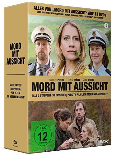 Mord mit Aussicht, Alle 3 Staffeln plus TV-Film EIN MORD MIT AUSSICHT (13DVDs)