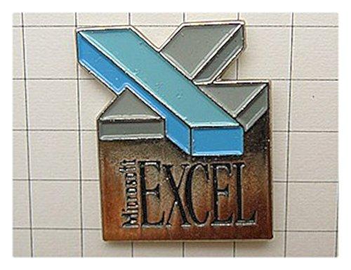 限定レア美品ピンズ エクセルXマイクロソフト社ピンバッチ