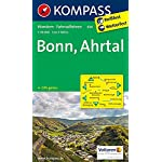 Bonn - Ahrtal: Wanderkarte mit Radrouten. GPS-genau. 1:50000 (KOMPASS-Wanderkarten, Band 820)