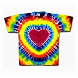 Tie Dye Mania Youth Rainbow Heart Tie-Dye T-Shirt