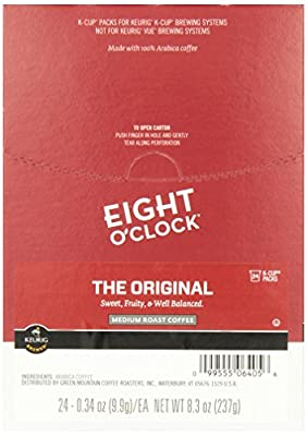 Eight O'clock Coffee Original Coffee Beans, 24 Count