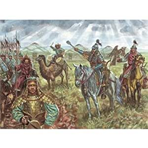 Amazon.com: XIIIth Century Mongol Cavalry (15 Mounted) 1/72 Italeri