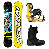 Lib Tech Skate Banana Complete Snowboard Package 2014 by Lib Tech
