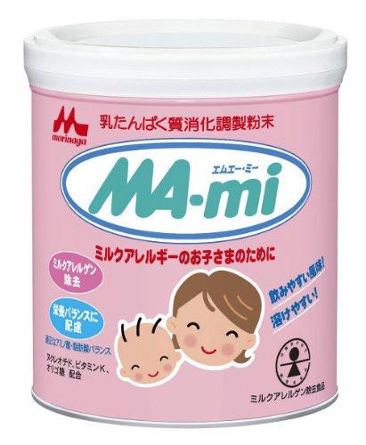 MORINAGA MA-mi 350g powder formula for milk allergic babies - 1