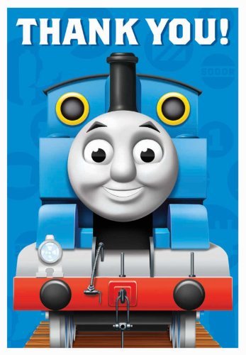 Thomas the Train Thank-You Notes (8)