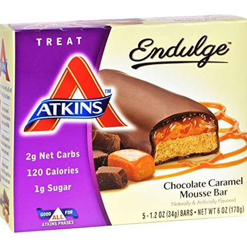 Chocolate Atkins Diet Snack Bars