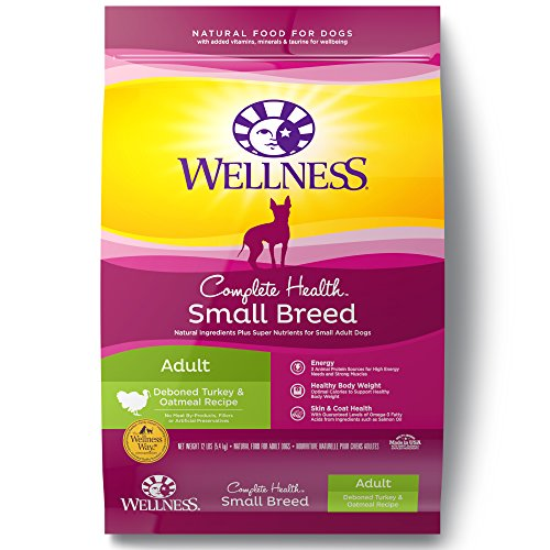 wellness-complete-health-natural-dry-small-breed-dog-food-turkey-oatmeal-12-pound-bag